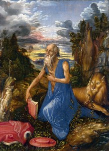 Albrecht Durer, St. Jerome in the Wilderness (National Gallery, London)