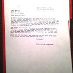 Car Dog Letter