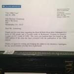 Rand McNally Letter