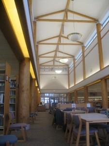 Library, Heritage University